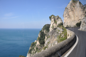 The Amalfi Coast Road