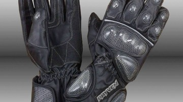 Top Rayven Motorcycle Gloves